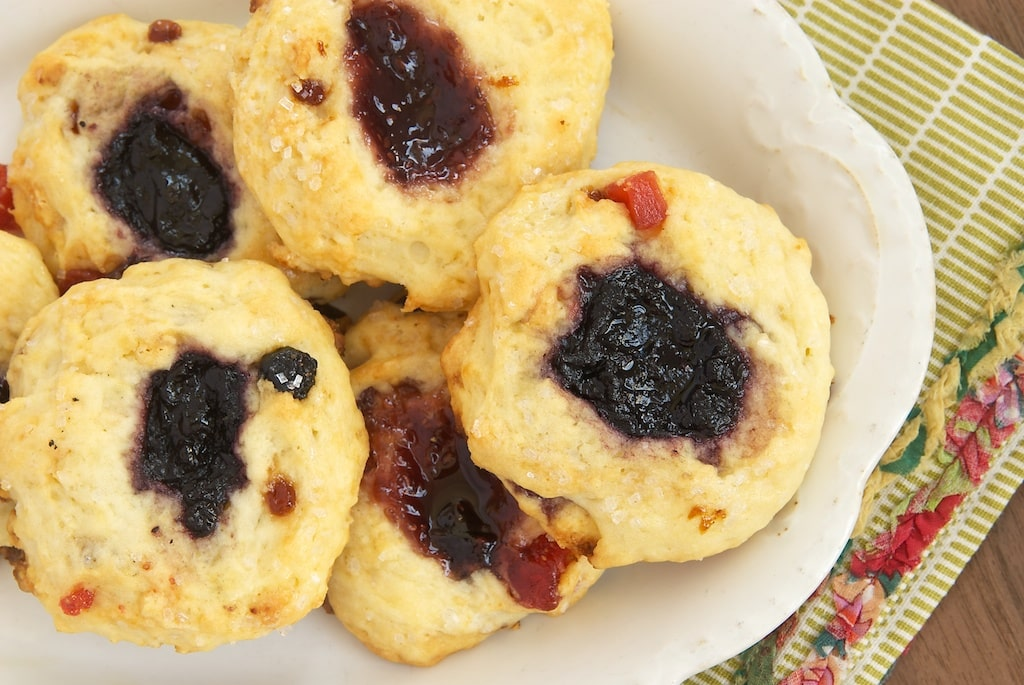 Berry and Cream Thumbprint Scones | Bake or Break