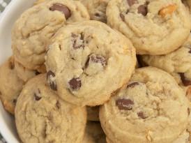 Triple Peanut Triple Chocolate Chip Cookies
