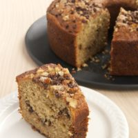 Sour Cream Banana Coffee Cake | Bake or Break