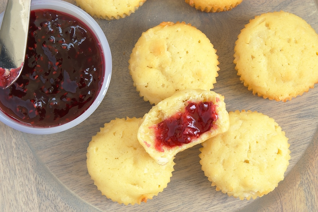 Mini Coconut Pound Cakes are a sweet and simple dessert. Serve with your favorite fruit preserves for an irresistible treat! - Bake or Break