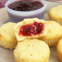 Mini Coconut Pound Cakes are individually sized desserts that are great for a crowd. Serve with your favorite fruit preserves. - Bake or Break