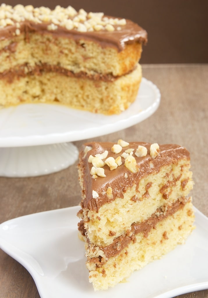 ... hazelnut cake with mocha frosting cakes frostings layer cakes 16