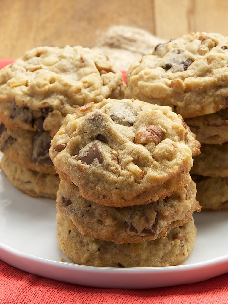 Triple Chocolate Nutty Peanut Butter Cookies are packed with plenty of ...