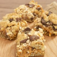 Salty Cashew-Caramel Bars | Bake or Break
