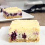 Blueberry-Oat Cheesecake Bars
