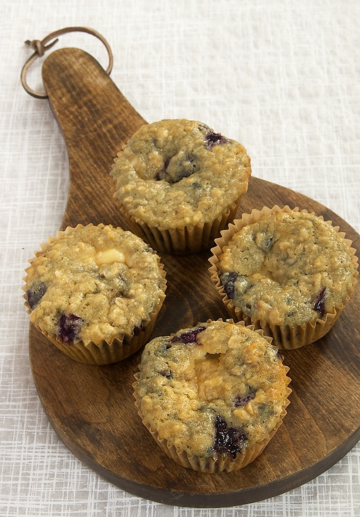 Cherries and cheesecake meet in these irresistible muffins. A great breakfast treat!