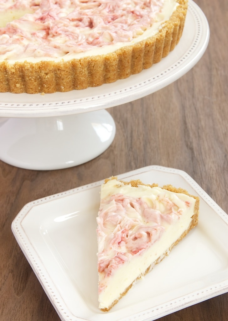 Fresh raspberries, white chocolate, and cream cheese make for a summer-perfect dessert!