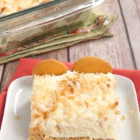 Coconut Cream Pie Bars are cool, creamy, sweet, and absolutely delicious. A favorite no-bake recipe!