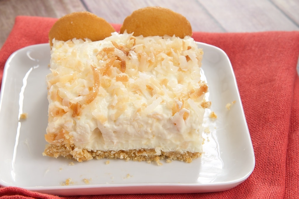 Coconut Cream Pie Bars are such a sweet, cool, creamy, coconut-y treat. Love all those layers!