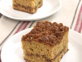 Caramel Crumb Coffee Cake
