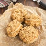 Butterscotch Oatmeal Sandwich Cookies