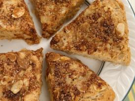 Cinnamon Almond Scones