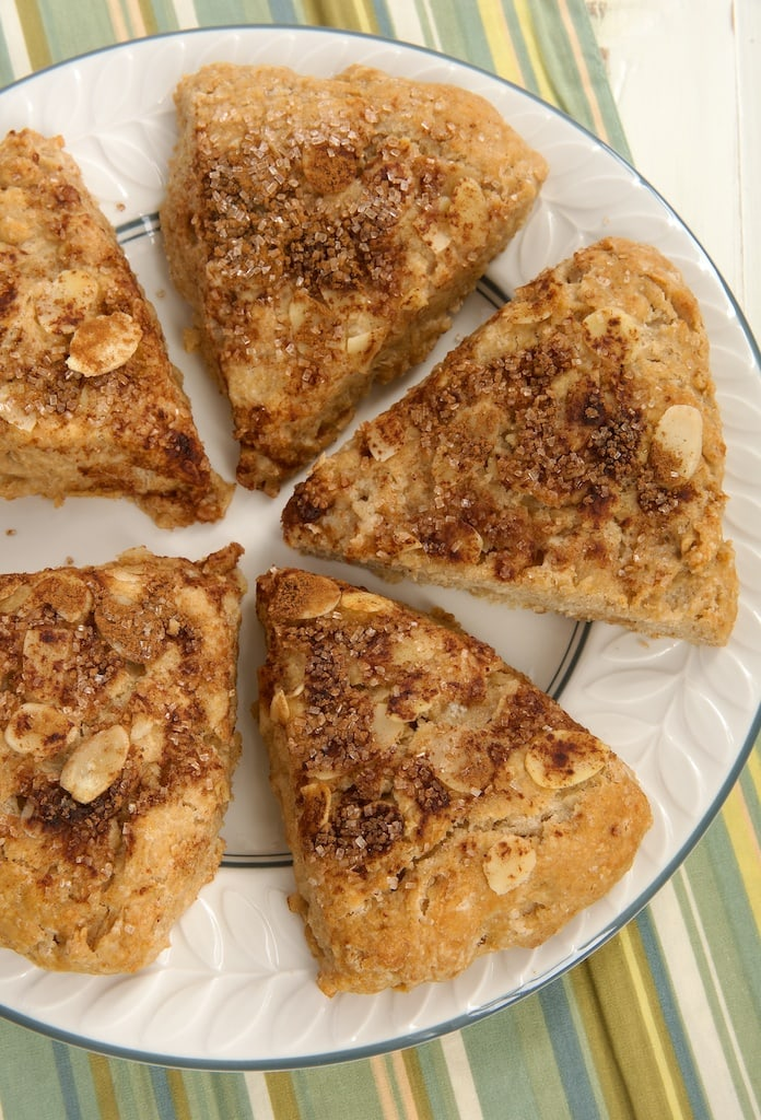 Make breakfast special with these sweet, nutty Cinnamon Almond Scones.