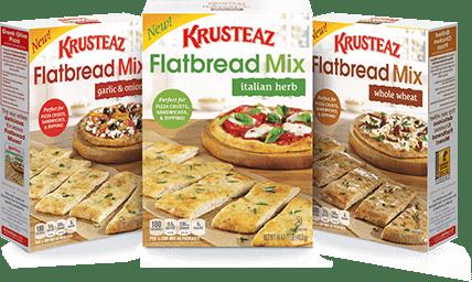 Krusteaz Flatbread Mixes Giveaway | Bake or Break