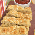 Italian Herb and Cheese Breadsticks