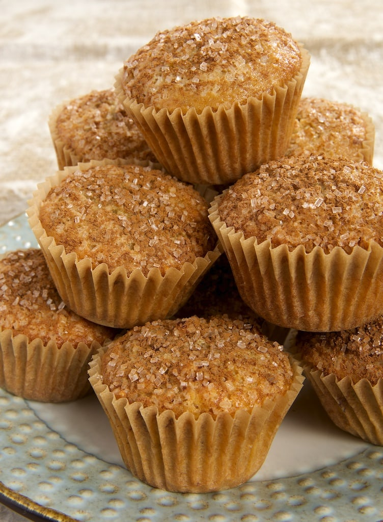 Maple Nut Muffins combine sweet, rich maple syrup with your favorite nuts for a wonderfully delicious morning treat!