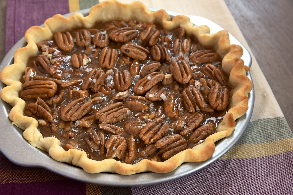 ... irresistible dessert. This Salted Caramel Pecan Pie is sure to be