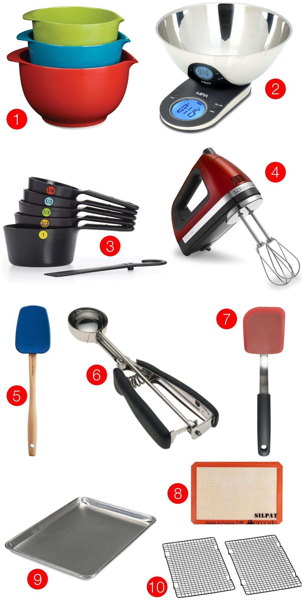 Bake or Break's favorite tools for baking cookies!