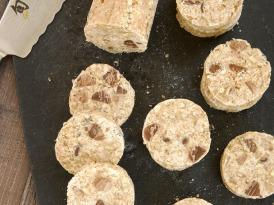 Chocolate Chip Pecan No-Bake Cookies