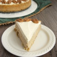 Delicious spices and rich cheesecake combine in this irresistible Spiced Cheesecake with Oatmeal Cookie Crust.