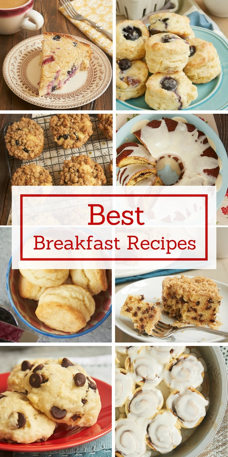 Make breakfast and brunch a little sweeter with some of Bake or Break's best muffins, coffee cakes, biscuits, and more!