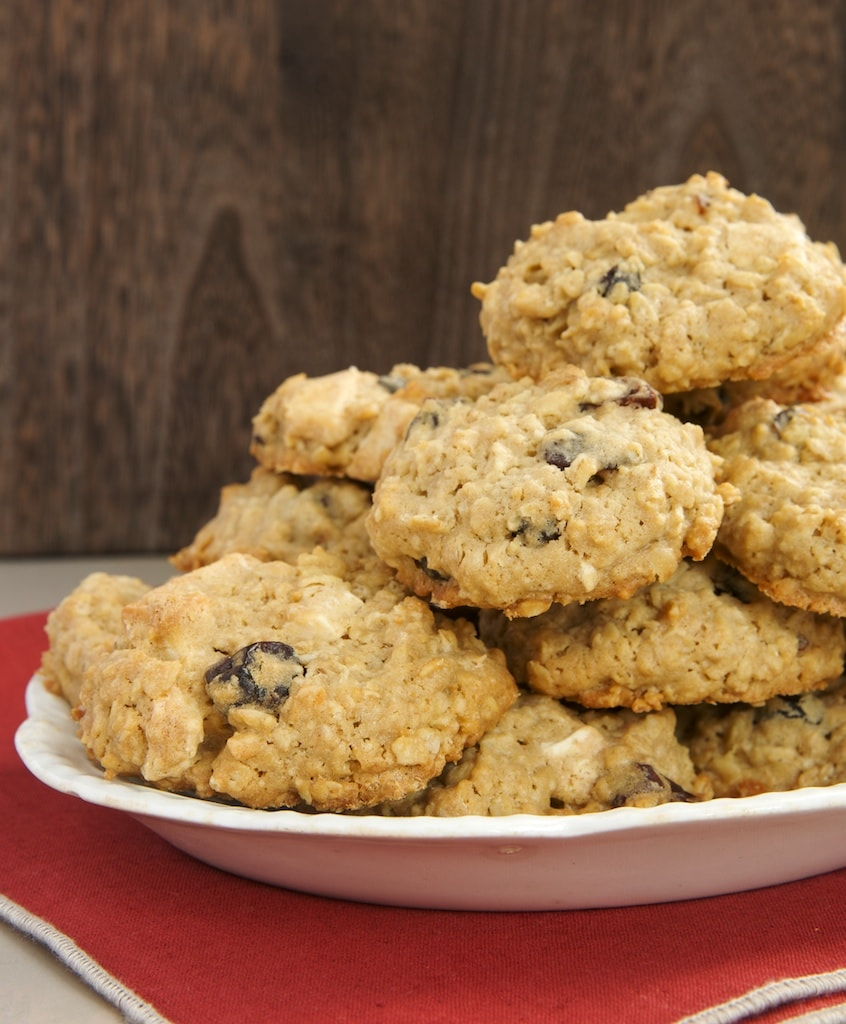 Cherry-White Chocolate Oatmeal Cookies - Bake or Break