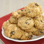Cherry-White Chocolate Oatmeal Cookies