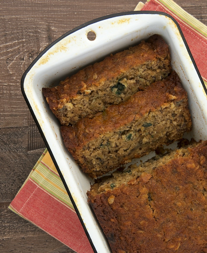 Your favorite granola makes banana bread even better!