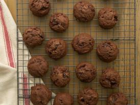 Fudgy Kahlua Brownie Cookies
