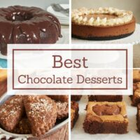 The best and most popular chocolate desserts from Bake or Break!