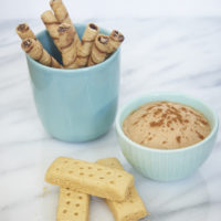 This simple Snickerdoodle Cookie Dip is so simple to make and has such big cinnamon flavor!