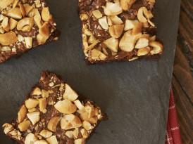 Dulce de Leche Cashew Brownies