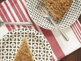 Toffee Pecan Brown Butter Crumb Cake