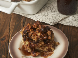 Peanut Butter-Chocolate Bread Pudding