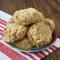 These big, thick Peanut Butter Oatmeal Cookies are perfectly sweet, nutty, chewy, and delicious! - Bake or Break