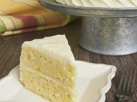 Citrus Cake with Tequila-Lime Frosting