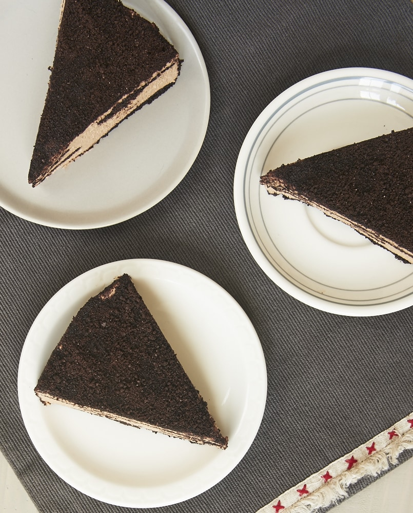 Icebox Chocolate Cheesecake