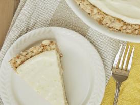 Lemon Icebox Pie with Toasted Coconut Crust