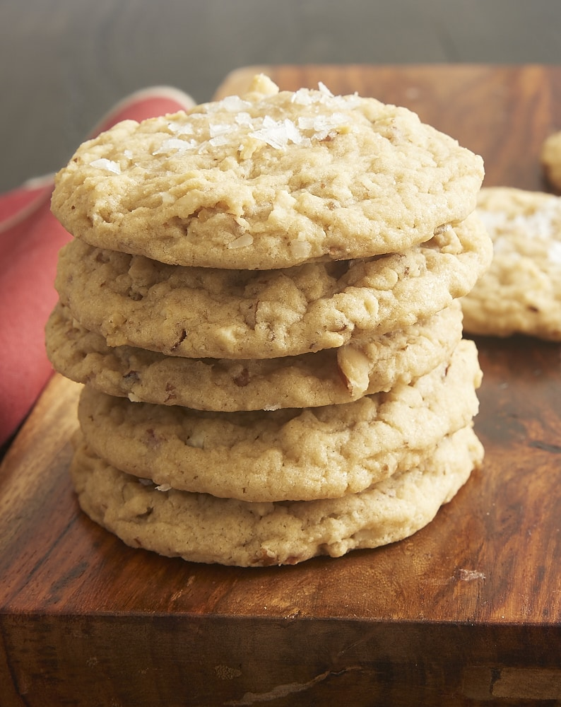 Salty Mixed Nut Cookies are sweet, salty, soft, chewy, and deliciously ...