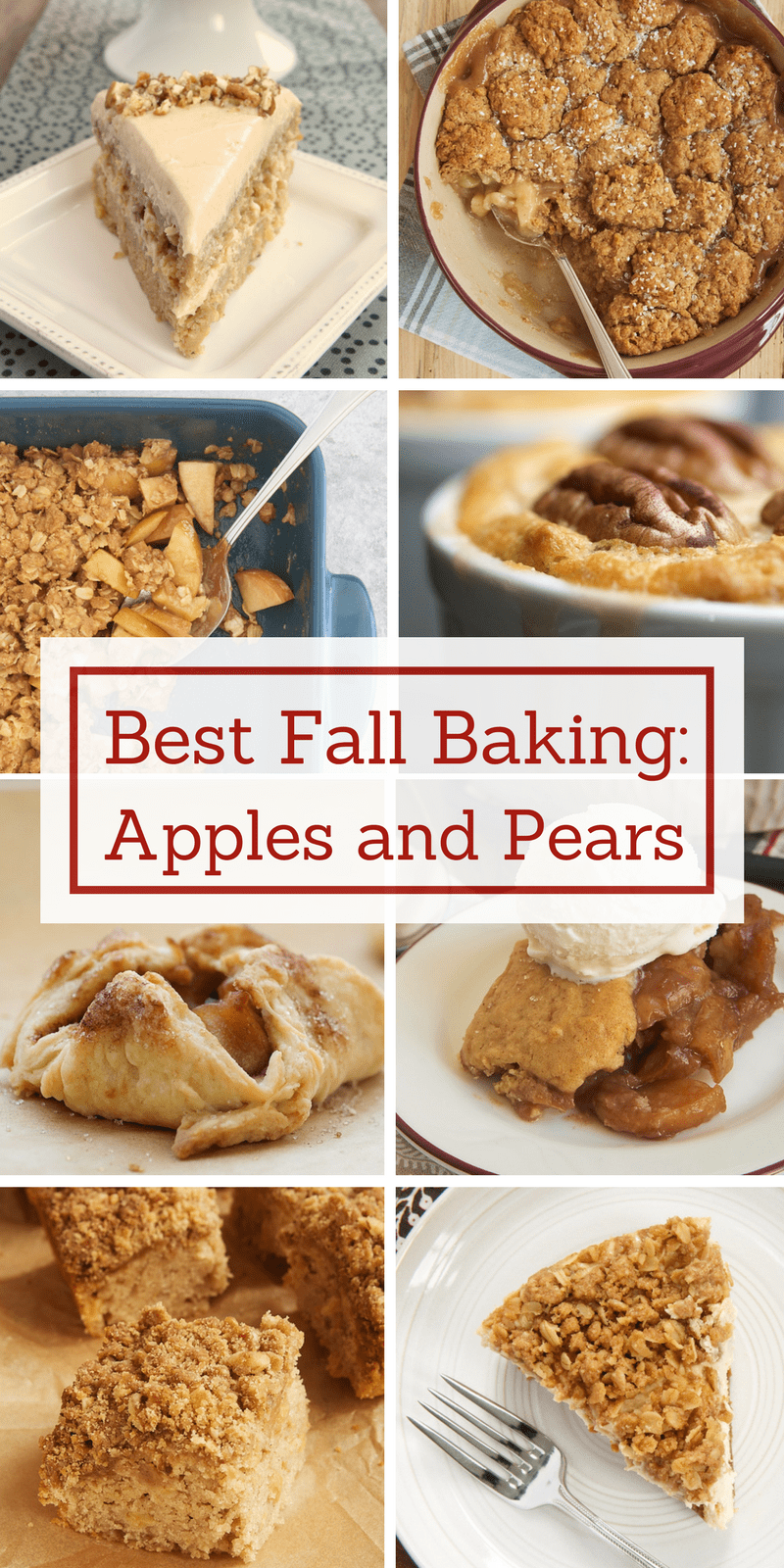 Apple and pear desserts are what fall baking is all about! Come find the best and most popular apple and pear recipes from Bake or Break in this essential fall baking collection.