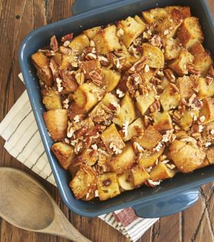 Maple Date Bread Pudding | Bake or Break