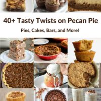 Try one of these terrific twists on pecan pie, including pies, cakes, brownies, muffins, and more! - Bake or Break