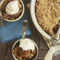 If your favorite part of pecan pie is the filling, then Pecan Pie Crisp will be your new favorite dessert! - Bake or Break