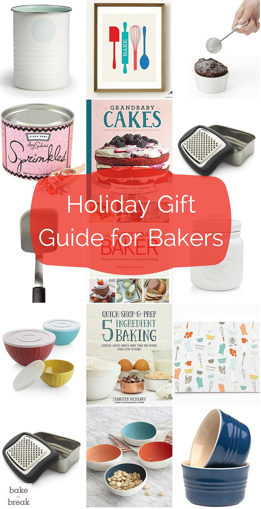 Find great gifts for the baker on your shopping list with these fun gift ideas! - Bake or Break