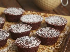 Kahlua Fudge Cakes