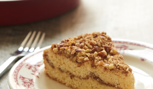 You'll love this nutty, subtly sweet Brown Butter Pecan Coffee Cake. It's the perfect sweet treat for your coffee break or sweet ending for a brunch! - Bake or Break