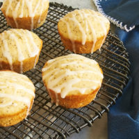 Triple Citrus Poppy Seed Muffins feature lemon, lime, and orange for plenty of citrus flavor. - Bake or Break