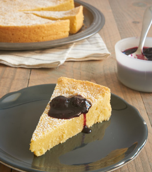 This simple, buttery Almond Gateau Breton is wonderfully delicious and versatile. A great dessert for most any occasion! - Bake or Break
