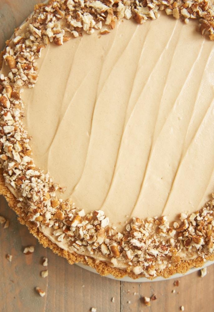 A Vanilla Wafer Crust Bananas And A No Bake Brown Sugar Cheesecake Filling