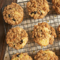 Ambrosia Muffins are certainly not lacking in the flavor department. Coconut, pineapple, cherries, oranges, nuts, and coconut all come together to make these fantastic muffins! - Bake or Break